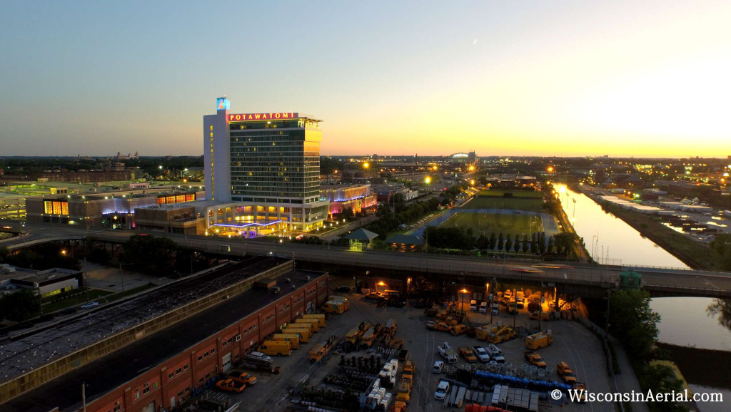 Potawatomi Casino at Dusk