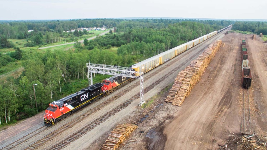 Train Loading Logs